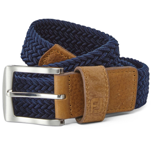 FootJoy Golf FJ Braided Belt (Navy)