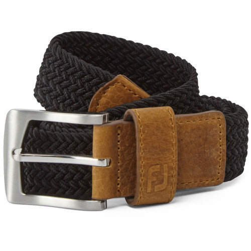 FootJoy Golf FJ Braided Belt (Black)