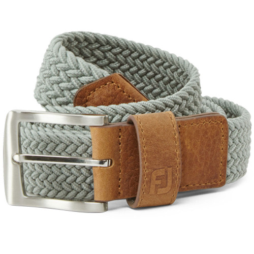 FootJoy Golf FJ Braided Belt (Grey)