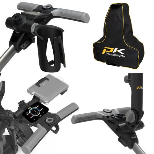PowaKaddy Golf Trolley Universal Accessories - Fits All FX & CT Range