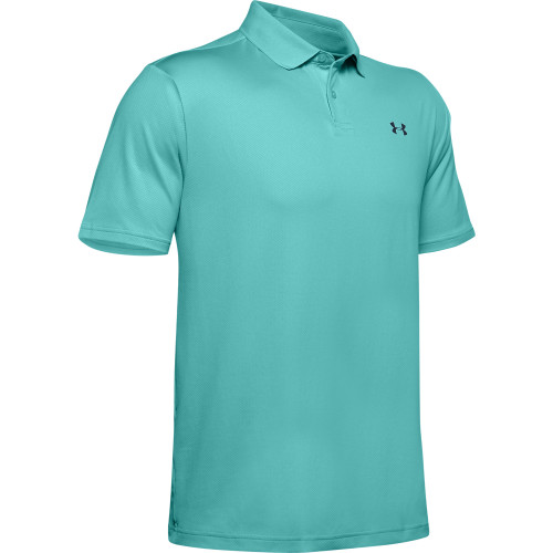 Under Armour Performance 2.0 Mens Golf Polo Shirt (R.Turquiose)