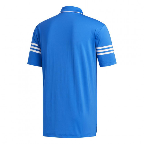 adidas Golf Ultimate365 Blocked Mens Polo Shirt  - Glory Blue/White