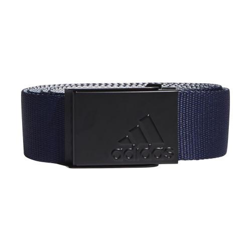 adidas Golf Mens Reversible Webbing Belt (Collegiate Navy/Grey)