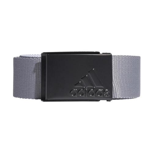 adidas Golf Mens Reversible Webbing Belt (Grey Three/White)