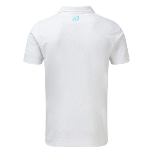 FootJoy Mens FJ Print Golf Polo Shirt reverse