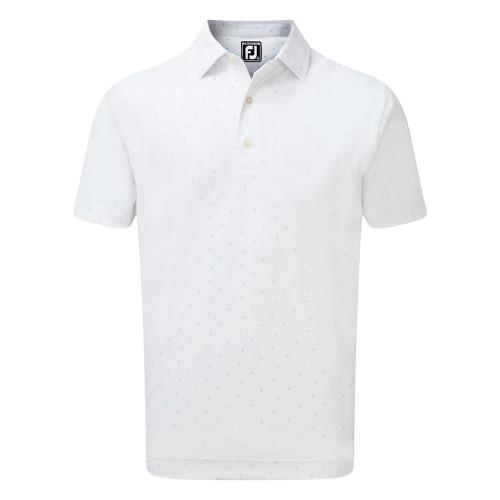 FootJoy Mens FJ Print Golf Polo Shirt