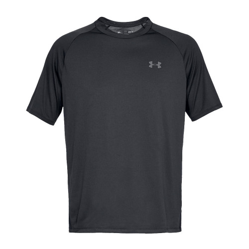 Under Armour Mens Sports Gym T-Shirt  (Black)