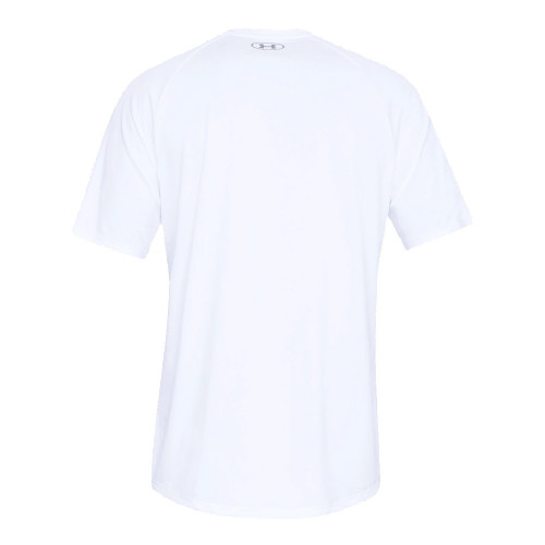 Under Armour Mens Sports Gym T-Shirt   - White