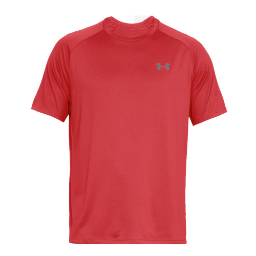 Under Armour Mens Sports Gym T-Shirt  (Red)