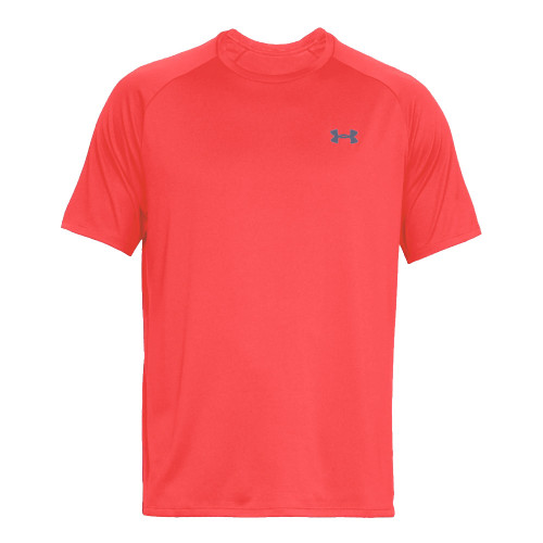 Under Armour Mens Sports Gym T-Shirt  (Beta Red)