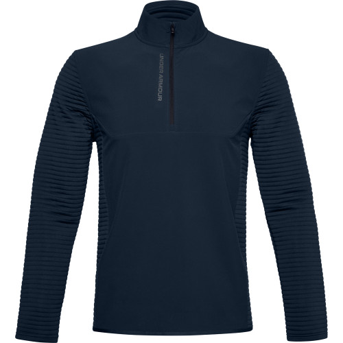 Under Armour Mens UA Storm Evolution Daytona 1/2 Zip Golf Sweater (Academy)