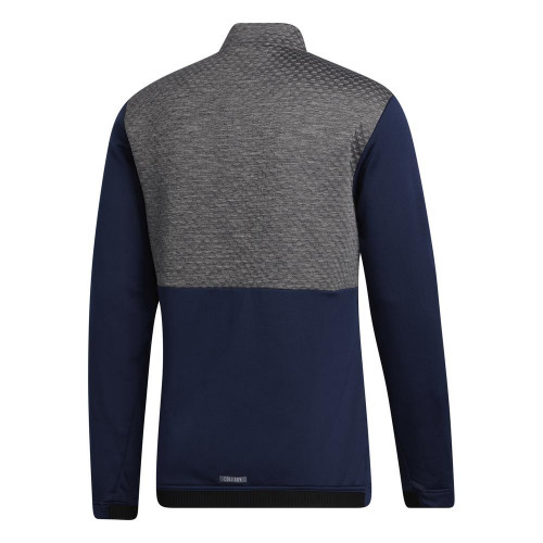 adidas Golf Mens COLD.RDY Quarter Zip Jacket Pullover reverse