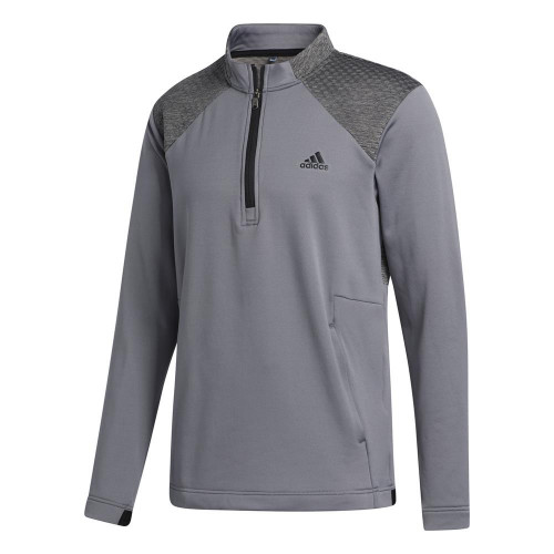 adidas Golf Mens COLD.RDY Quarter Zip Jacket Pullover