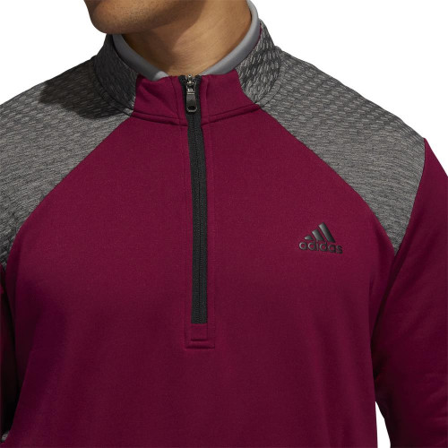 adidas Golf Mens COLD.RDY Quarter Zip Pullover