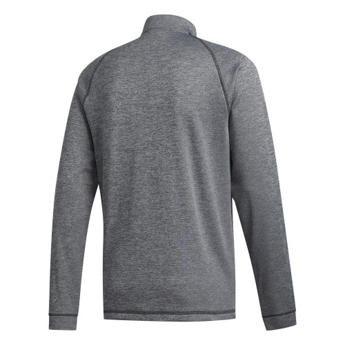 adidas Golf Midweight Quarter Zip Mens Sweatshirt reverse