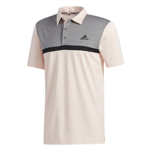 adidas Golf Mens Novelty Colourblock Polo Shirt