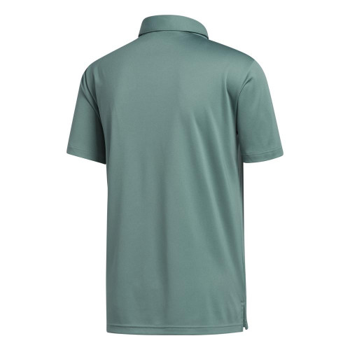adidas Golf Mens Novelty Colourblock Polo Shirt reverse