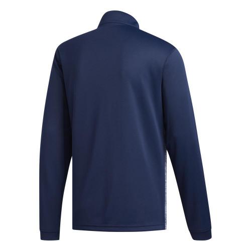 adidas Golf Mens Core Layering 1/4 Zip Sweater Pullover reverse