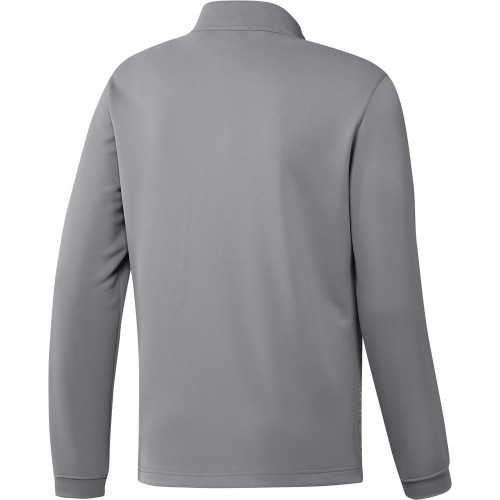 adidas Golf Mens Core Layering 1/4 Zip Pullover  - Grey Three