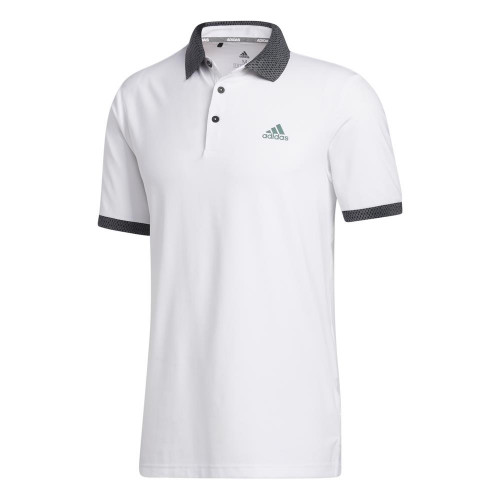 adidas Golf Mens Ultimate365 Delivery Polo Shirt (White)