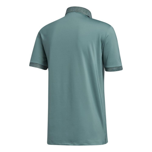 adidas Golf Mens Ultimate365 Delivery Polo Shirt  - Tech Emerald