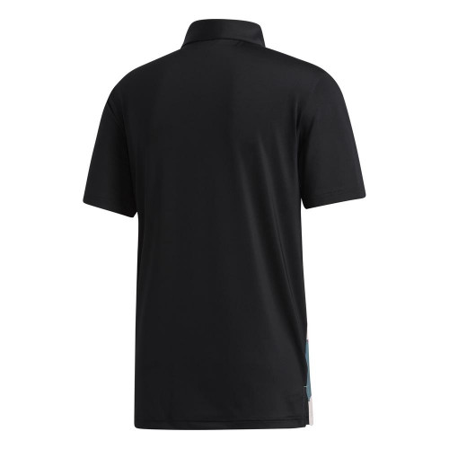 adidas Golf Mens Ultimate365 Jockey Polo Shirt reverse