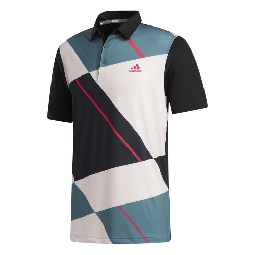 adidas Golf Mens Ultimate365 Jockey Polo Shirt