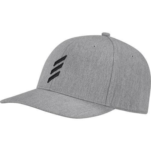 adidas Golf Adicross Bold Stripe Baseball Cap (Grey Two Mel)