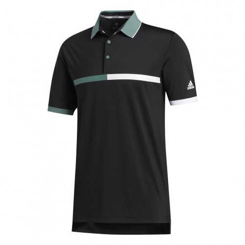 adidas Golf Ultimate365 3-Stripes Mens Polo Shirt