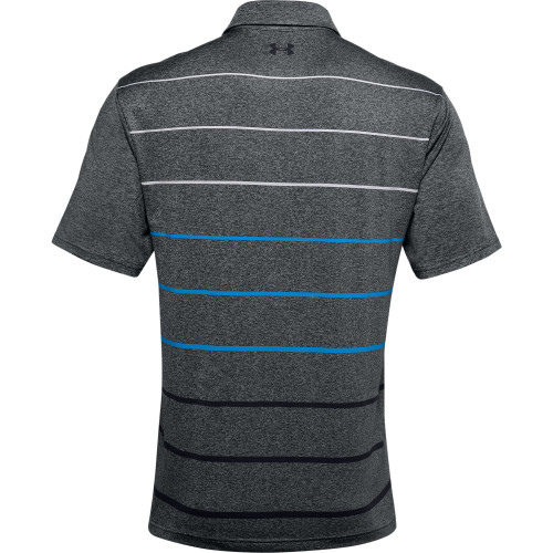 Under Armour Mens Front Nine Heather PlayOff Golf Polo Shirt reverse