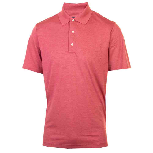 Greg Norman Mens Heathered UV Protection Golf Polo Shirt