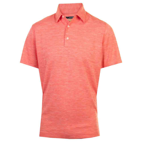 Greg Norman Mens Bold Heathered Golf Polo Shirt