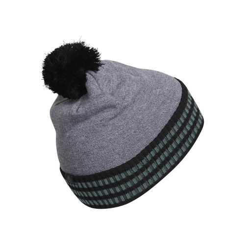 adidas Mens Statement Pom Golf Beanie Thermal Warm Winter Hat reverse