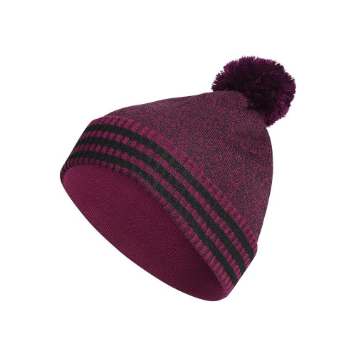 adidas Mens Statement Pom Golf Beanie Thermal Warm Winter Hat