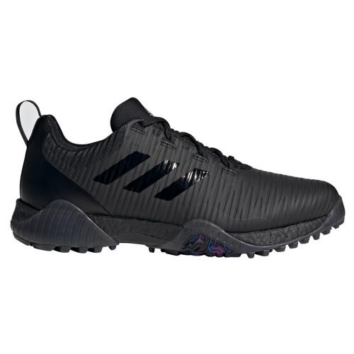 adidas CodeChaos Mens Spikeless Golf Shoes (Black)