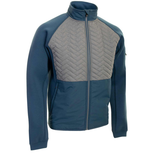ProQuip Mens Gust Therma Quilted Full Zip Golf Jacket