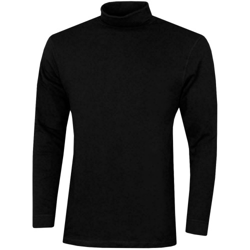 Proquip Mens Solano CottonGolf Rollneck Long sleeve top