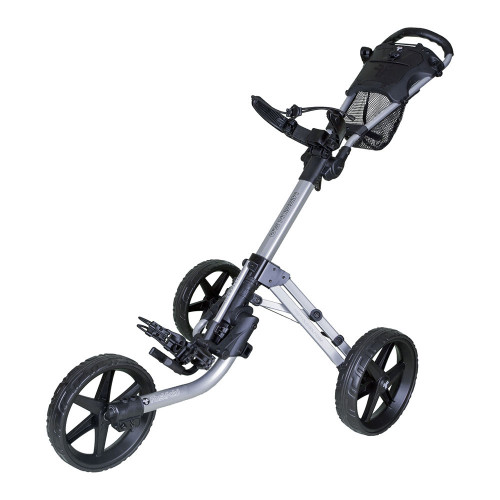 Fast Fold Mission 5.0 3-Wheel Golf Trolley Push Cart
