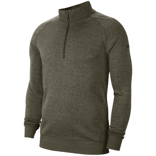 Nike Dry-Fit Player 1/2 Zip Golf Sweater (Sequoia)