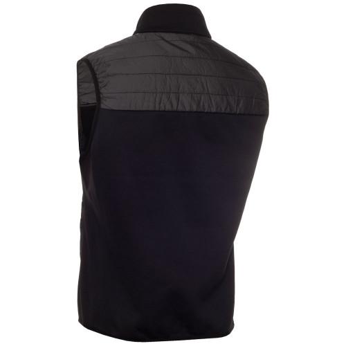 Calvin Klein Mens Wrangell Hybrid Golf Gilet  - Black