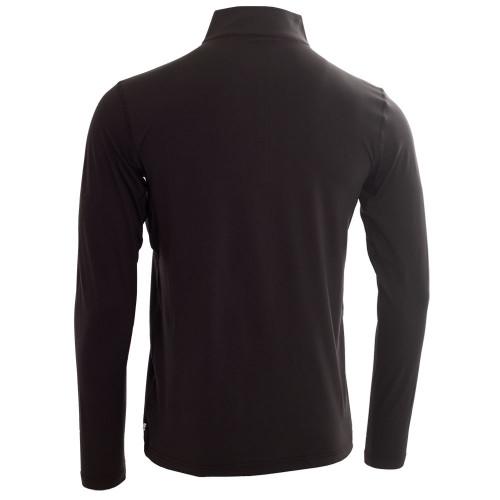 Calvin Klein Mens Newport Half Zip Golf Pullover  - Black
