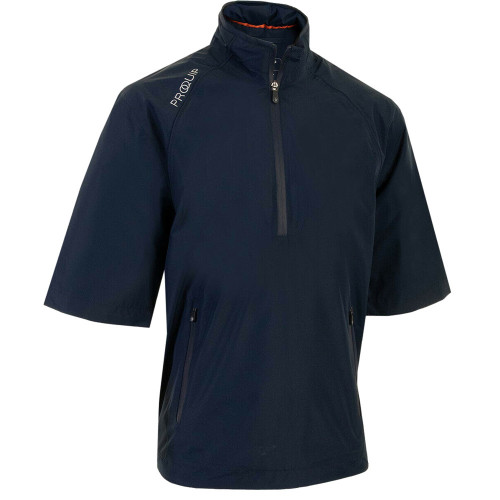 ProQuip Mens Tempest Half Sleeve Golf Waterproof Jacket