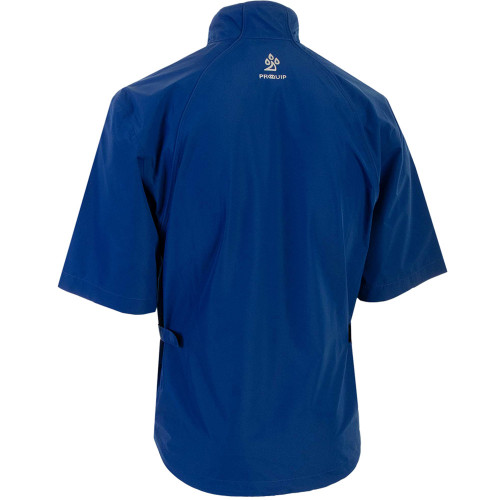 ProQuip Mens Tempest Half Sleeve Golf Waterproof Jacket reverse