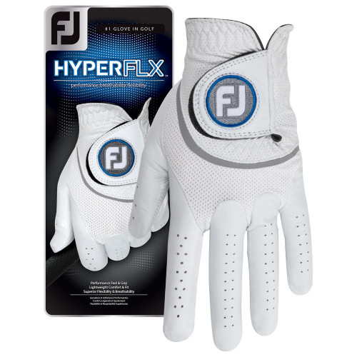 FootJoy Mens HyperFLX Golf Glove Left Hand (Right Handed Golfer)