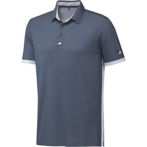 adidas Golf Equipment Two Tone Mesh Polo Shirt