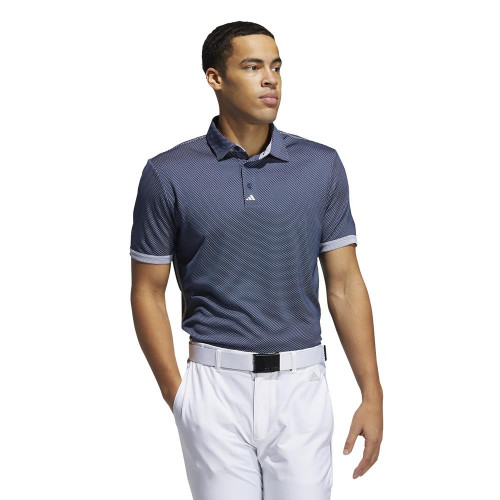 adidas Golf Equipment Two Tone Mesh Mens Polo Shirt