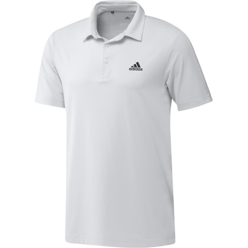 adidas Golf Ultimate365 Solid Mens Polo Shirt (White)
