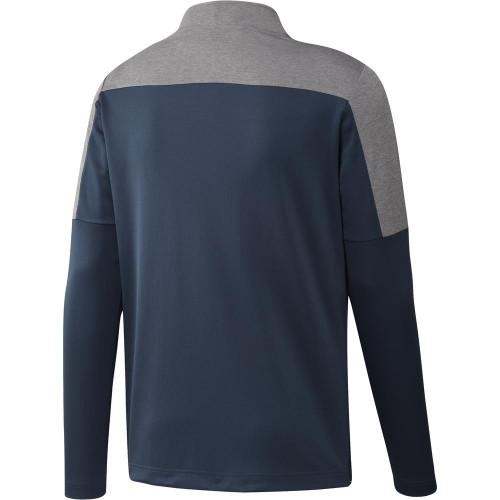 adidas Golf UPF Lightweight 1/4 Zip Pullover reverse