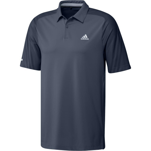 adidas Golf HEAT.RDY 3-Stripe Polo Shirt  - Crew Navy