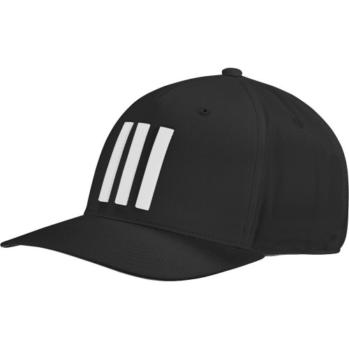 adidas Golf Mens Tour Hat 3-Stripes Baseball Cap